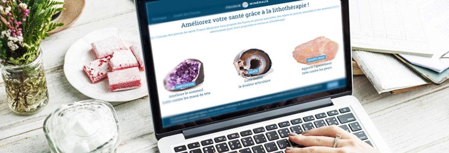 boutique de lithotherapie en ligne