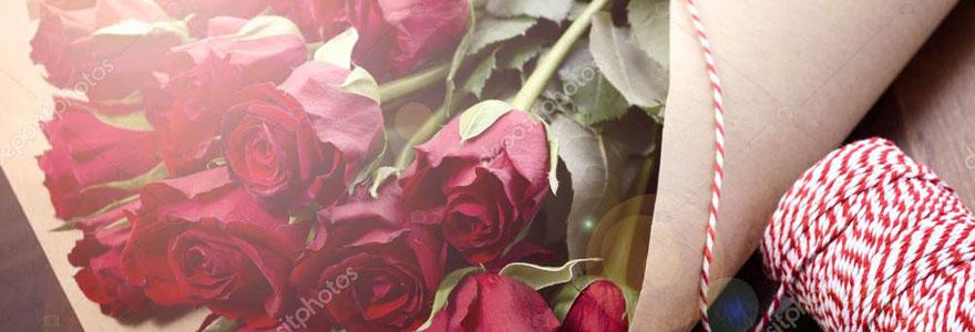 fleur pour la Saint-Valentin
