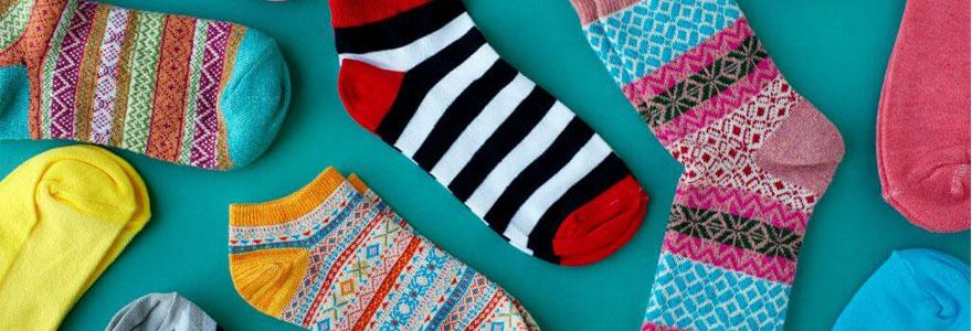 chaussettes de fabrication locale